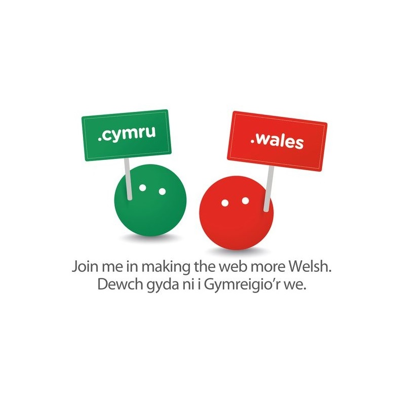 .Wales and .Cymru Logo